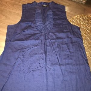 Apt 9. Blue Blouse Size XL